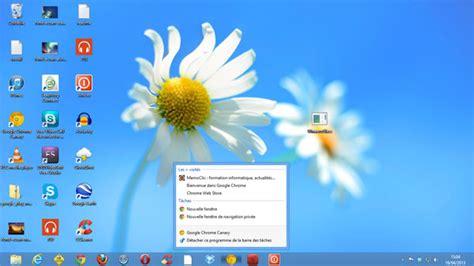 windows 8 bureau disparu le bureau de windows 8 présentation et personnalisation