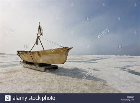 Eskimo Boat by Barrow Alaska Stock Photos Barrow Alaska Stock Images