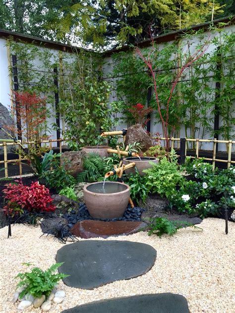 japanese garden created  kihara landscapes  mont