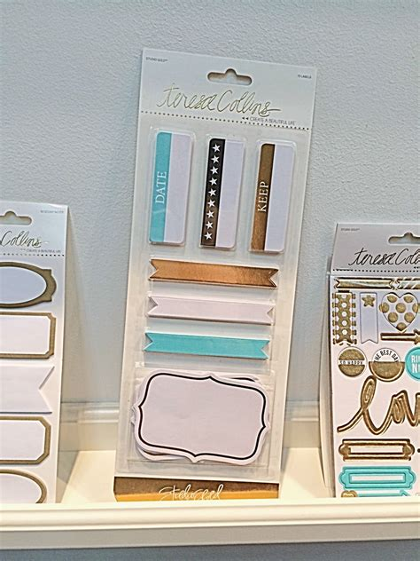 Office Supplies Nyc by Teresa Collins Studio Gold Foiled Office Labels Nyc