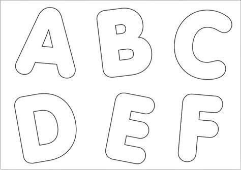 molde de letras a b c d e f escola educa 231 227 o