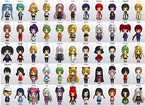 All Chibi VOCALOIDS by SasuruShishima on DeviantArt