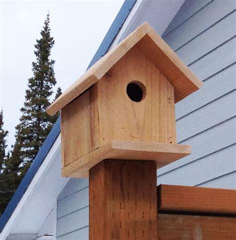 Build Cedar Birdhouse For Ana White