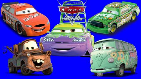 Cars Fast As Lightning First 10 Characters From Todd