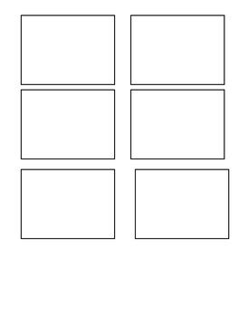blank flash card template blank flashcard template by the behavior savior tpt