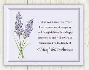 25 Best Ideas About Funeral Thank You Notes On Pinterest