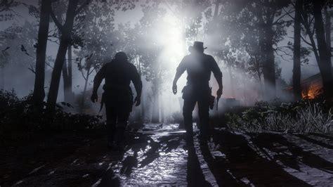 wallpaper red dead redemption  screenshot  games