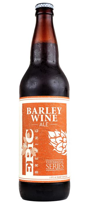 In john 6:9, when jesus was to miraculously feed 5,000 people, he multiplied five barley loaves and two small fish. Barley Wine Ale - American Barleywine - Epic Brewing Company