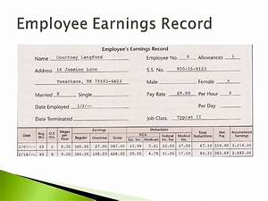 payroll register in excel With employee earnings record template