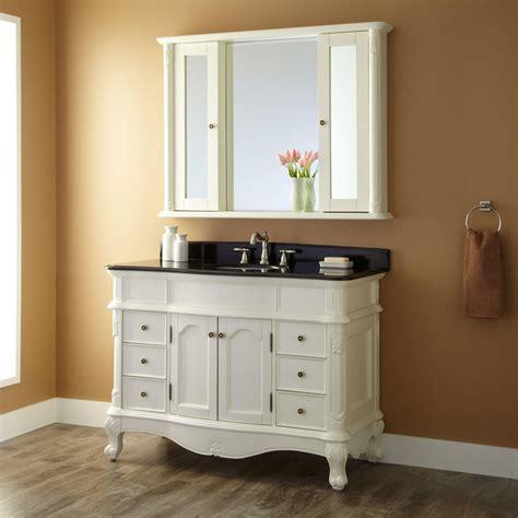 40419 painted bathroom cabinets white 48 quot sedwick white vanity bathroom