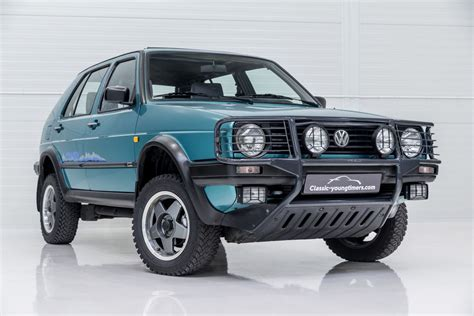 1990 VW Golf - Syncro Country | Classic Driver Market | Volkswagen golf mk1, Volkswagen golf, Vw ...