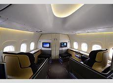 Lufthansas neues JumboFlaggschiff Unterwegs an Bord der