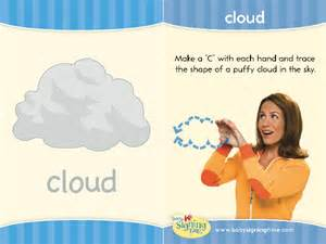 Baby Sign Language Cloud