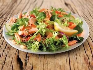 Salat Mit Geräuchertem Lachs : gemischter salat mit r ucherlachs rezept eat smarter ~ Orissabook.com Haus und Dekorationen