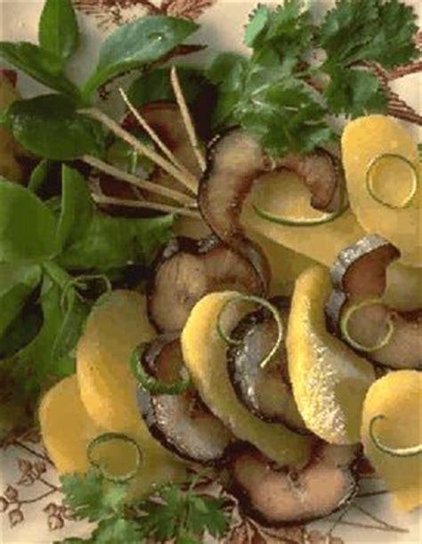 anguille cuisine salade d 39 anguille fumée pour 4 personnes recettes à