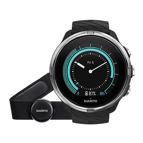 suunto  black gps sportuhr mit langer batterielaufzeit