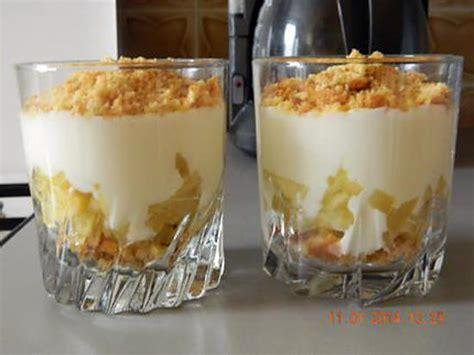 recette de verrine de fromage blanc sur lit de pommes caram 233 lis 233 es
