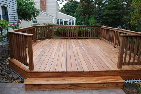12x16 Free Standing Deck Plans by Outdoor Free Standing Deck Plans House Design And