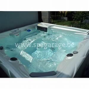 Spa 2 Places Allongées Promo : jacuzzi europ en pour 5 personnes 2 couchettes ~ Melissatoandfro.com Idées de Décoration