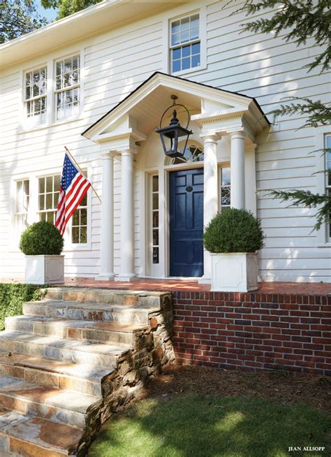 on holiday exteriors house styles colonial exterior