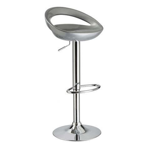 tabouret de bar gris metal lot de 2 id 39 achat
