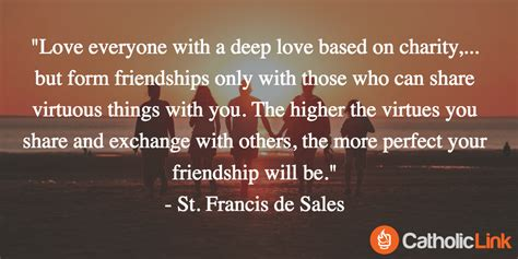 Catholic Saints Quotes On Friendship