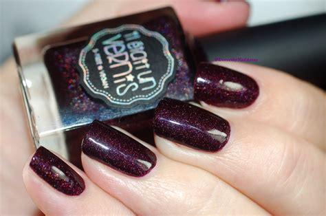 nails b73 il était un vernis cabernet sauvignon swatch by dorothy