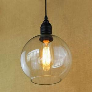 antique copper hanging clear glass shade pendant lamp with With glass hanging floor lamp