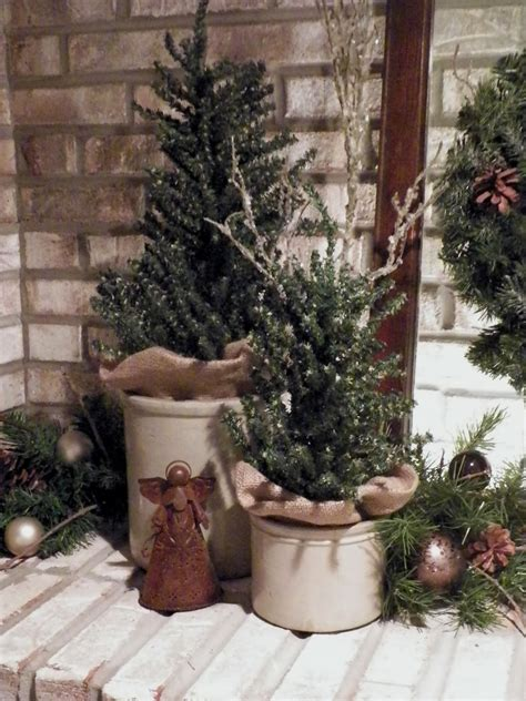 Kitchen Christmas Tree Ideas - everything in between by kelly tiffany rustic christmas mantel idolza