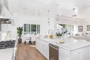 45 luxurious kitchens with white cabinets ultimate guide With kitchen colors with white cabinets with expensive wall art
