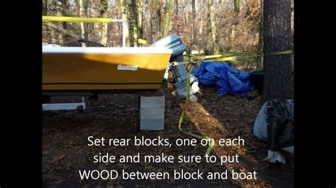 Removing A Boat From A Trailer On Land by Remove Boat From Trailer