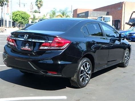 Low Mileage 2015 Honda Civic Ex Repairable For Sale