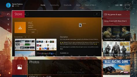universal vlc app now available on the xbox one windows