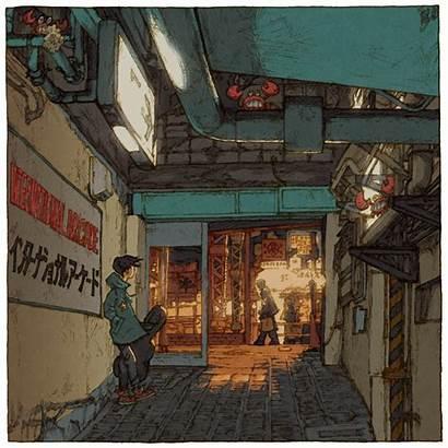 Tokyo Tsuchimochi Shinji Japanese Illustrator Views Charming