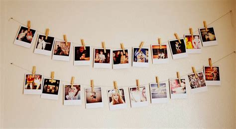 how to hang polaroid lights photo string diy random stuff i like