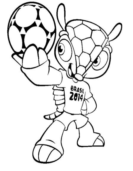 Brazilie Vlag Kleurplaat by Kleurplaat Voetbal