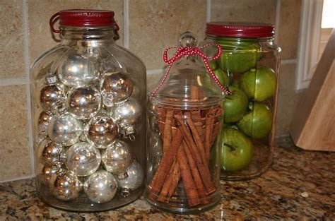 decorated jars for christmas christmas decorating ideas that add festive charm to your kitchen