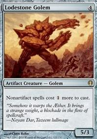 weatherlight golem army edh commander edh mtg deck