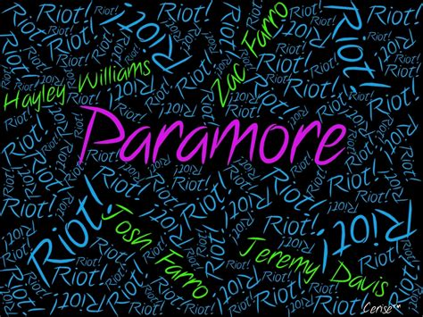 riot paramore wallpaper  fanpop
