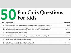 50 Family Quiz Questions to Extend Dinner Time School Mum