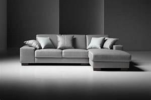 Estro, Salotti, Arrone, Modern, Grey, Fabric, Sectional, Sofa