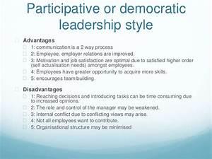 Behavioral management approach