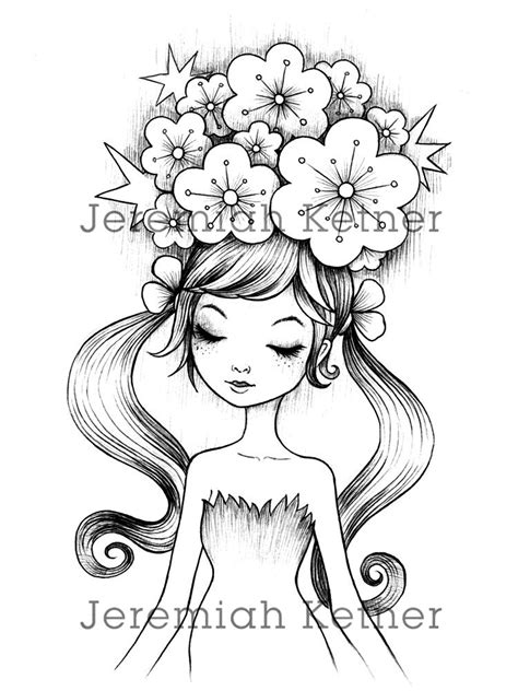 Jeremiah Ketner | Coloring pages, Coloring books, Digital