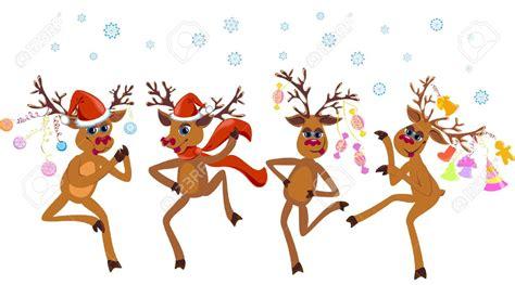 dancing reindeer clipart png  cliparts