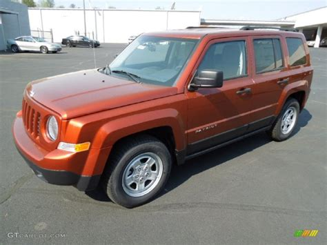 2012 Copperhead Orange Pearl Jeep Patriot Sport 62596526