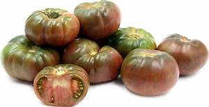 Black Krim Heirloom Tomatoes Information, Recipes and Facts