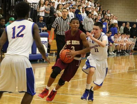 hs boys basketball bc high eliminates quincy sports