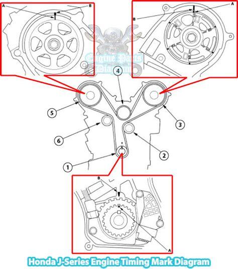 Honda Odyssey Engine Timing Mark Diagram