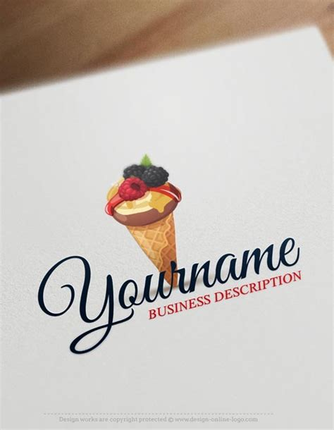 exclusive logo design ice cream logo images