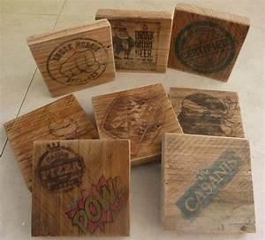 Dessous De Verre Bois : fabriquer des dessous de verre en bois bricolage shevarezo blog ~ Teatrodelosmanantiales.com Idées de Décoration